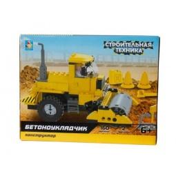 Купить Конструктор игровой 1 Toy «Строительная техника. Бетоноукладчик»