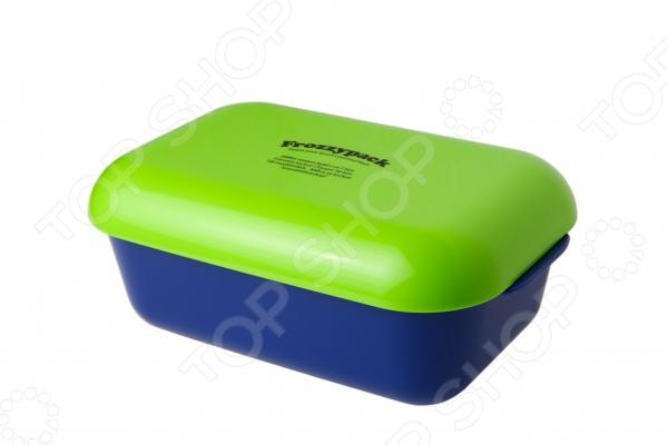 Контейнер охлаждающий Frozzypack Joyful EditionПосуда туристическая. Наборы для пикников<br>Контейнер охлаждающий Frozzypack Joyful Edition поможет вам в течение семи часов сохранить обед в режиме холодильника. Особенно удобно его использовать в длительных поездках в жаркое время года. Для поддержания низкой температуры, крышку контейнера необходимо предварительно охладить в морозильной камере. Модель выполнена из высококачественного пищевого пластика. Контейнер можно мыть в посудомоечной машине.<br>