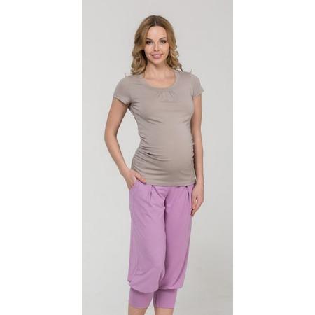 Купить Капри для беременных Nuova Vita 5309.02. Цвет: розовый
