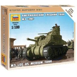 фото Сборная модель танка Звезда «Американский танк М3. Ли»