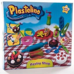 фото Набор пластилина игровой Plastelino «Пекарня»