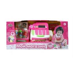 фото Игровой набор для девочки Shantou Gepai «Касса электронная. Мой магазин» 941414