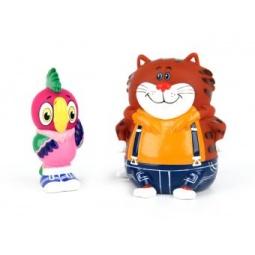 фото Набор игрушек для ребенка Союзмультфильм «Кеша и Кот»