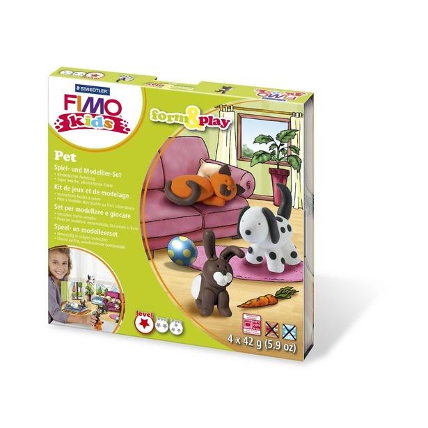 фото Набор для создания украшений детский Fimo Kids «Домашний любимец»