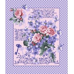 фото Комплект из 3-х кухонных полотенец подарочный ТексДизайн «Вероника, Весна, Джульетта»