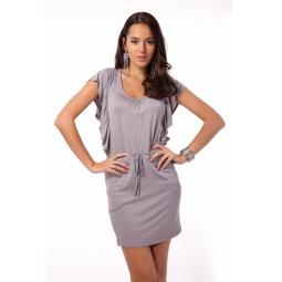 фото Платье Mondigo 8588. Цвет: серый. Размер одежды: 42
