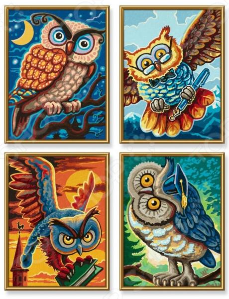 Набор для рисования по номерам Schipper «Совы мудрости»