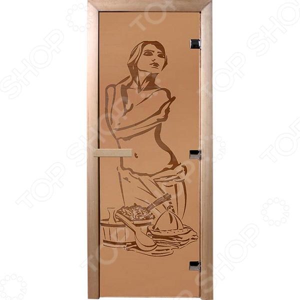 Дверь для бани Банные штучки «Искушение»Двери для бани<br>Не секрет, что при проектировке и оборудовании бани и сауны, особое внимание следует уделить качеству и материалу изготовления входных дверей. Обязательным условием является их устойчивость к высоким температурам и повышенной влажности. Дверь для бани Банные штучки Искушение является отличным вариантом для парной. Она выполнена из стекла и снабжена тремя петлями, герметично закрывается и обладает хорошими теплоизолирующими свойствами.<br>