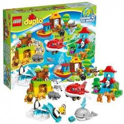 фото Конструктор игровой LEGO «Вокруг света: В мире животных»