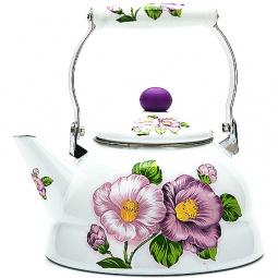 фото Чайник металлический Mayer&Boch «Цветы»