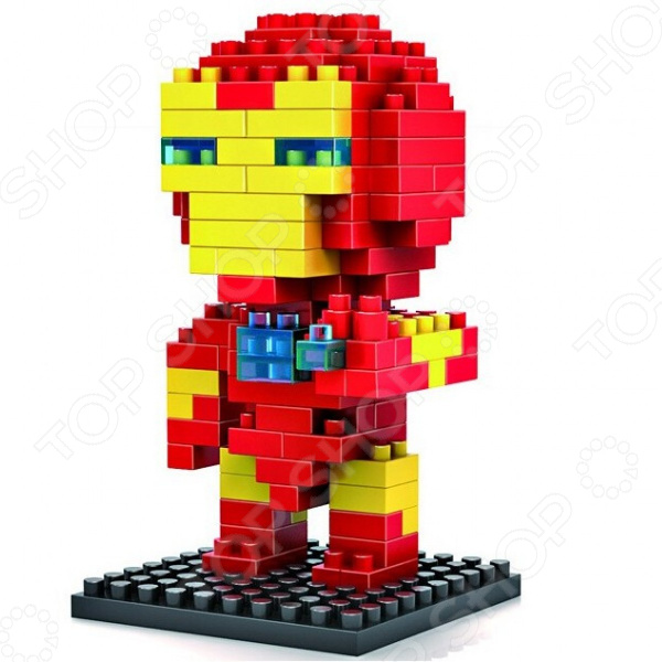 Конструктор-игрушка Loz «Железный воин»Другие виды конструкторов<br>Конструктор-игрушка Loz Железный воин обязательно понравится ребенку. Он сможет самостоятельно собрать целую композицию, с которой потом можно будет играть. Играя с конструктором, ребенок будет развивать пространственное и логическое мышление, творческие способности и мелкую моторику рук. Кроме того, с получившейся игрушкой он сможет самостоятельно придумывать различные игровые ситуации, развивая тем самым и фантазию.<br>