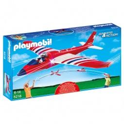 фото Самолет игрушечный со световыми эффектами Playmobil «Игры на открытом воздухе: Звездный самолет»