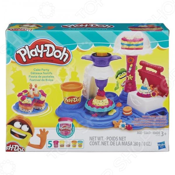 Набор пластилина игровой Hasbro «Сладкая вечеринка»