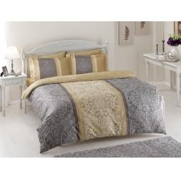 фото Комплект постельного белья TAC Damas. 1,5-спальный. Цвет: серый