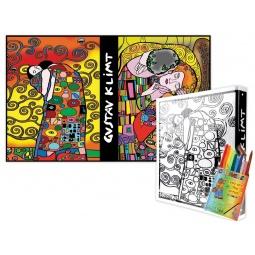 Купить Папка-раскраска Color Velvet «Климт»