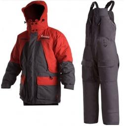 Купить Костюм для рыбалки зимний NOVA TOUR «Фишермен v.2». Цвет: серый, красный