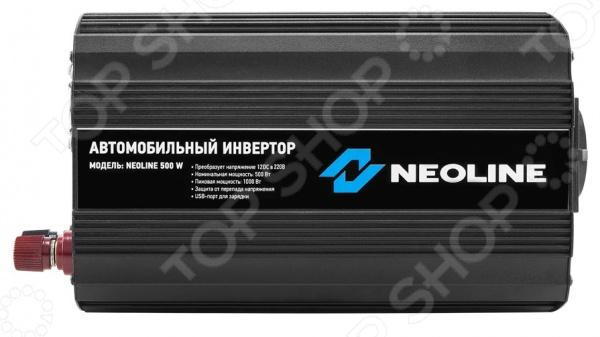 Инвертор автомобильный Neoline 500W. В ассортименте Neoline - артикул: 745826