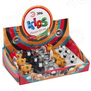 Фонарик-брелок детский Эра BD-box15B. В ассортименте