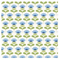 фото Отрез ткани Tilda Молли. Цвет: синий