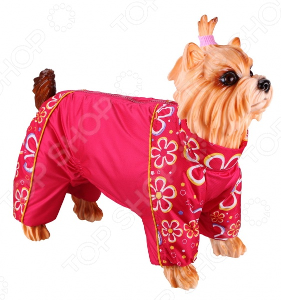 Комбинезон-дождевик для собак DEZZIE «Английский кокер» свитер для собак dezzie 561500 цвет черный