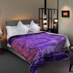 фото Плед Tomilon Annulet violet. Размер: 220х240 см