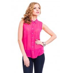 фото Блузка Mondigo 9977. Цвет: брусничный. Размер одежды: 46