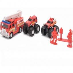 фото Набор машинок игрушечных Soma «Пожарная техника» 79963R