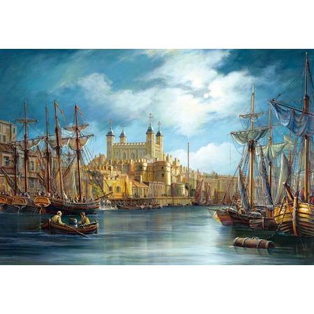 Купить Пазл 3000 элементов Castorland «Новый день в гавани»