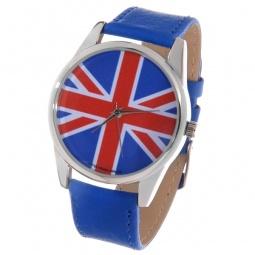 фото Часы наручные Mitya Veselkov «Британский флаг» Color. Цвет: синий