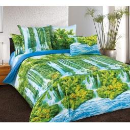 Купить Комплект постельного белья Белиссимо «Водопад». 2-спальный