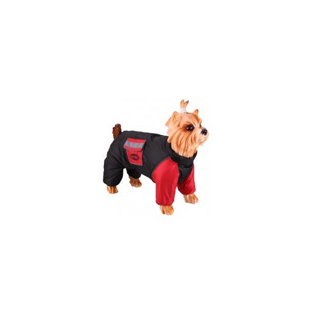 фото Комбинезон-дождевик для собак DEZZIE «Американский бульдог». Материал подкладки: нет. Пол: кобель