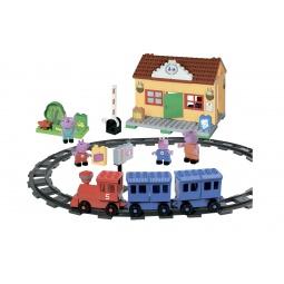 Купить Конструктор детский BIG «Железнодорожная станция»