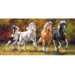 Купить Пазл 4000 элементов Castorland «Лошади»