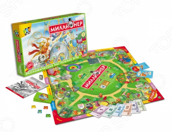 Настольная игра Оригами «Миллионер-юниор» майка детская юниор