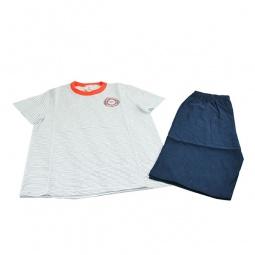 фото Комплект для мальчика: майка и шорты Свитанак 606434. Размер: 36. Рост: 134 см