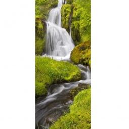 Купить Фотообои на дверь ARD Maximage «Горный водопад»
