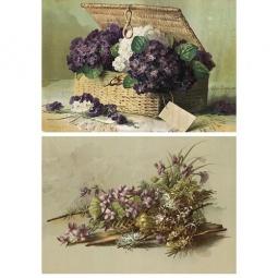 Купить Декупажная карта Karalliki «Полевые цветы»