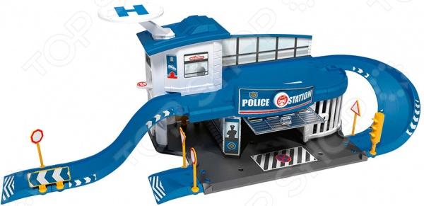 Набор игровой для мальчика Majorette «Парковка. Полицейская станция» Creatix ouaps бани полицейская станция 61148