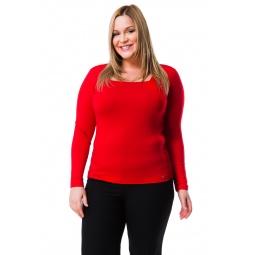 фото Кофта Mondigo XL 7014. Цвет: красный. Размер одежды: 48