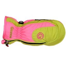 Купить Варежки GLANCE Neptun (2011-12). Цвет: розовый, зеленый, белый