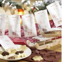 фото Пакеты для печенья Lurch рождественские
