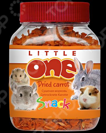 Лакомство для грызунов Little One «Сушеная морковь» лакомство для грызунов little one ягодное ассорти