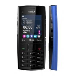 фото Мобильный телефон Nokia X 2-02. Цвет: голубой