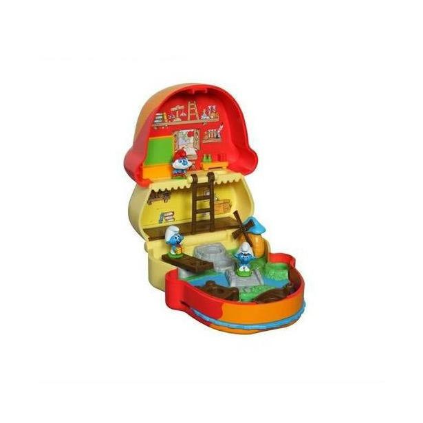 фото Набор игровой Jakks Pacific «Маленький Домик с мини фигуркой Папы Смурфа»