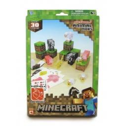 Купить Конструктор из бумаги Minecraft «Дружелюбные мобы»