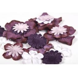 фото Набор цветов из шелковичной бумаги ScrapBerry's SCB 9201702