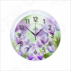 Часы настенные Вега П 1-248/7-248 часы вега п 1 247 7 247 желтые тюльпаны