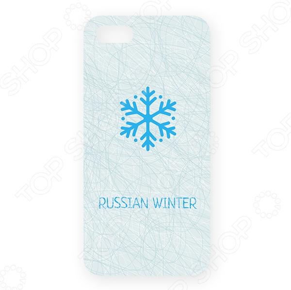 купить Чехол для iPhone 5 Mitya Veselkov «Русская зима - снежинка» онлайн