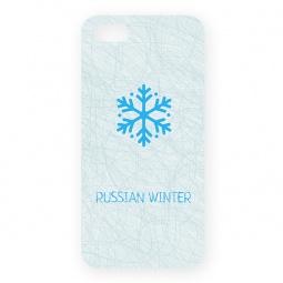 фото Чехол для iPhone 5 Mitya Veselkov «Русская зима - снежинка»