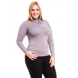 фото Водолазка Mondigo XL 7013. Цвет: серый. Размер одежды: 48